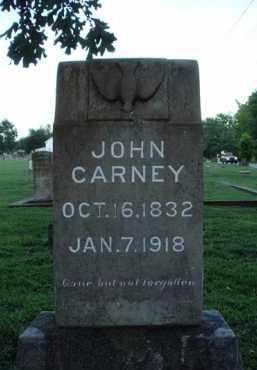 CARNEY, JOHN - Washington County, Arkansas   JOHN CARNEY - Arkansas Gravestone Photos