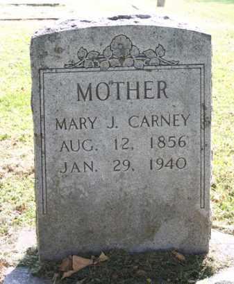 CARNEY, MARY J. - Washington County, Arkansas | MARY J. CARNEY - Arkansas Gravestone Photos