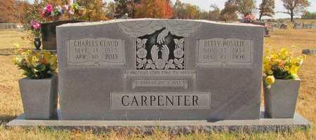 CARPENTER, CHARLES CLAUD - Washington County, Arkansas | CHARLES CLAUD CARPENTER - Arkansas Gravestone Photos