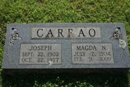CARRAO, JOSEPH - Washington County, Arkansas | JOSEPH CARRAO - Arkansas Gravestone Photos