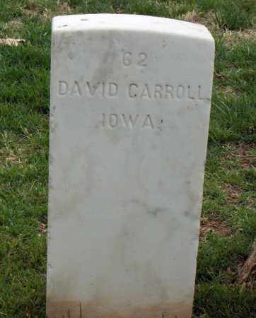 CARROLL (VETERAN UNION), DAVID - Washington County, Arkansas | DAVID CARROLL (VETERAN UNION) - Arkansas Gravestone Photos