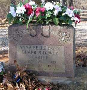CARTER, ANNA BELLE - Washington County, Arkansas | ANNA BELLE CARTER - Arkansas Gravestone Photos