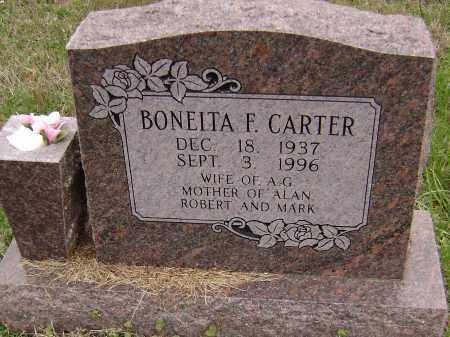 CARTER, BONEITA F. - Washington County, Arkansas | BONEITA F. CARTER - Arkansas Gravestone Photos