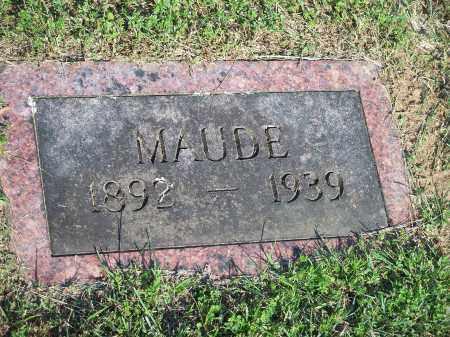 CARTER, MAUDE - Washington County, Arkansas   MAUDE CARTER - Arkansas Gravestone Photos