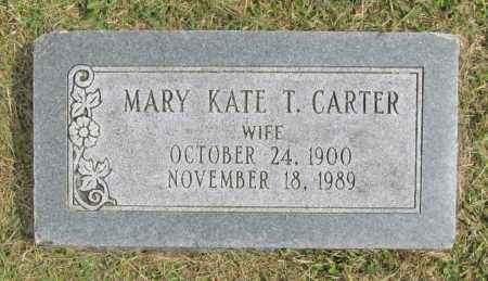 TUNNELL CARTER, MARY KATE - Washington County, Arkansas | MARY KATE TUNNELL CARTER - Arkansas Gravestone Photos