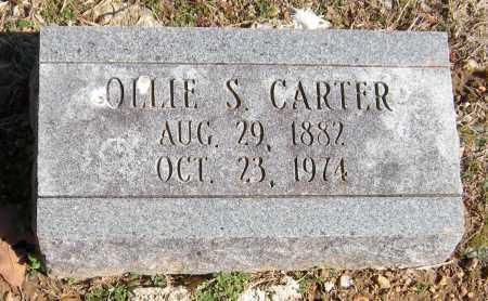 WEIR CARTER, OLLIE S. - Washington County, Arkansas   OLLIE S. WEIR CARTER - Arkansas Gravestone Photos