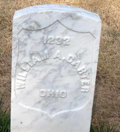 CARTER (VETERAN UNION), WILLIAM A - Washington County, Arkansas | WILLIAM A CARTER (VETERAN UNION) - Arkansas Gravestone Photos