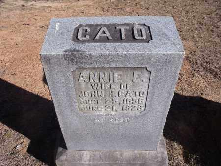 CATO, ANNIE E. - Washington County, Arkansas | ANNIE E. CATO - Arkansas Gravestone Photos