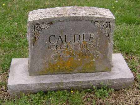 CAUDLE, HERBERT BRIAN - Washington County, Arkansas | HERBERT BRIAN CAUDLE - Arkansas Gravestone Photos