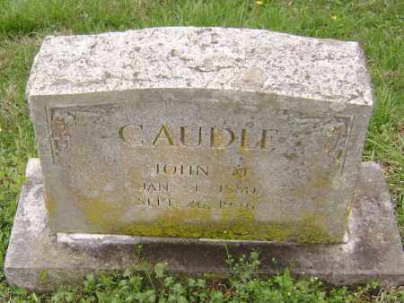 CAUDLE  (VETERAN WWII), JOHN MARION - Washington County, Arkansas | JOHN MARION CAUDLE  (VETERAN WWII) - Arkansas Gravestone Photos