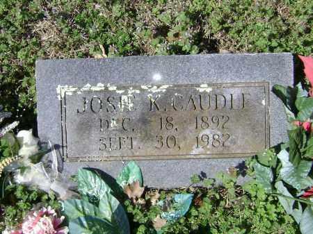 CAUDLE, JOSIE K. - Washington County, Arkansas | JOSIE K. CAUDLE - Arkansas Gravestone Photos