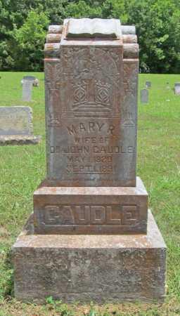 CAUDLE, MARY R. - Washington County, Arkansas | MARY R. CAUDLE - Arkansas Gravestone Photos