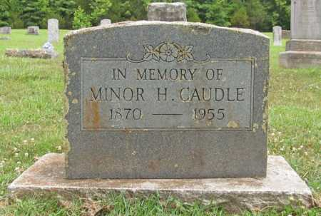 CAUDLE, MINOR H. - Washington County, Arkansas   MINOR H. CAUDLE - Arkansas Gravestone Photos