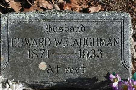 CAUGHMAN, EDWARD W. - Washington County, Arkansas | EDWARD W. CAUGHMAN - Arkansas Gravestone Photos