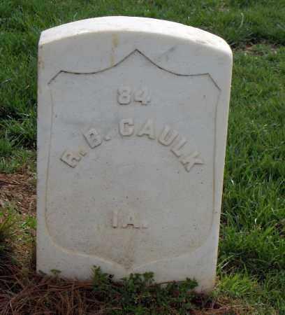 CAULK (VETERAN UNION), R B - Washington County, Arkansas   R B CAULK (VETERAN UNION) - Arkansas Gravestone Photos
