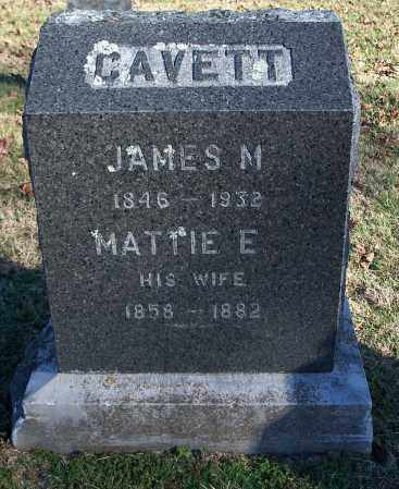 CAVETT, JAMES M. - Washington County, Arkansas | JAMES M. CAVETT - Arkansas Gravestone Photos