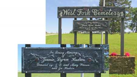 *WEST FORK CEMETERY SIGN,  - Washington County, Arkansas |  *WEST FORK CEMETERY SIGN - Arkansas Gravestone Photos