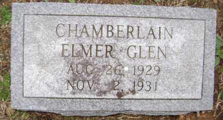 CHAMBERLAIN, ELMER GLEN - Washington County, Arkansas | ELMER GLEN CHAMBERLAIN - Arkansas Gravestone Photos