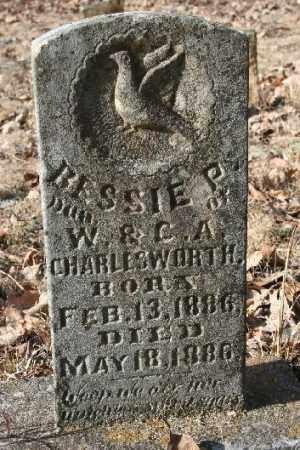 CHARLESWORTH, BESSIE P - Washington County, Arkansas   BESSIE P CHARLESWORTH - Arkansas Gravestone Photos