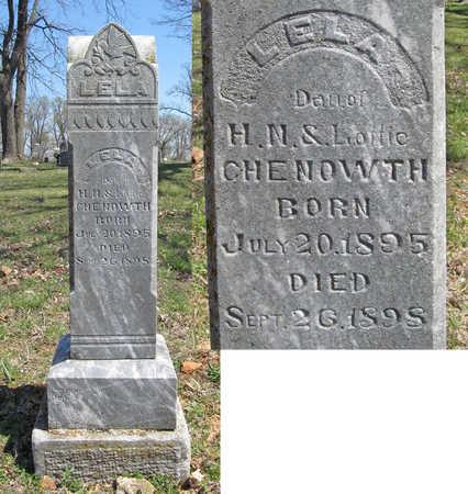 CHENOWTH, LELA - Washington County, Arkansas | LELA CHENOWTH - Arkansas Gravestone Photos