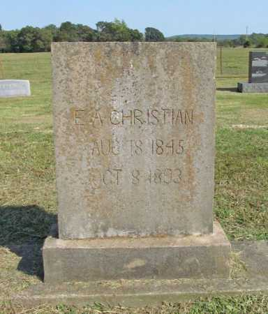 CHRISTIAN, ELIZABETH - Washington County, Arkansas | ELIZABETH CHRISTIAN - Arkansas Gravestone Photos