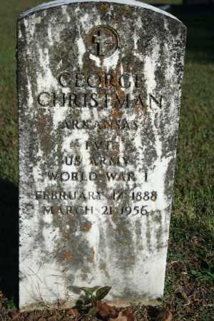 CHRISTMAN (VETERAN WWI), GEORGE - Washington County, Arkansas | GEORGE CHRISTMAN (VETERAN WWI) - Arkansas Gravestone Photos