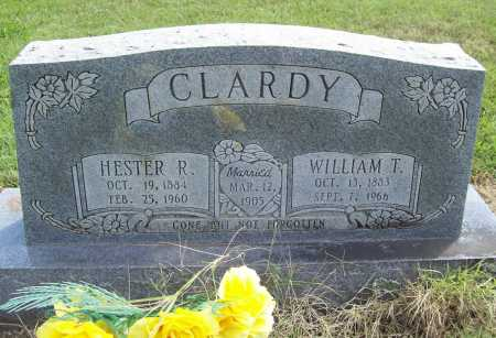 CLARDY, WILLIAM THOMAS - Washington County, Arkansas   WILLIAM THOMAS CLARDY - Arkansas Gravestone Photos