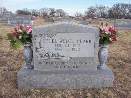 WELCH CLARK, ETHEL - Washington County, Arkansas | ETHEL WELCH CLARK - Arkansas Gravestone Photos