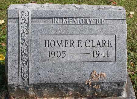 CLARK, HOMER F. - Washington County, Arkansas | HOMER F. CLARK - Arkansas Gravestone Photos