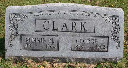 CLARK, GEORGE F. - Washington County, Arkansas | GEORGE F. CLARK - Arkansas Gravestone Photos