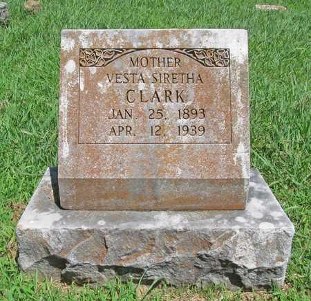 CLARK, VESTA SIRETHA - Washington County, Arkansas | VESTA SIRETHA CLARK - Arkansas Gravestone Photos