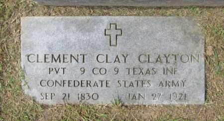 CLAYTON (VETERAN CSA), CLEMENT CLAY - Washington County, Arkansas   CLEMENT CLAY CLAYTON (VETERAN CSA) - Arkansas Gravestone Photos