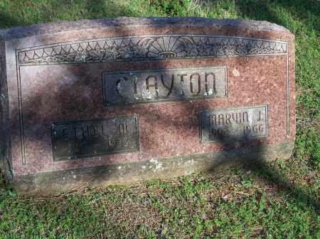 CLAYTON, MARVIN J. - Washington County, Arkansas | MARVIN J. CLAYTON - Arkansas Gravestone Photos
