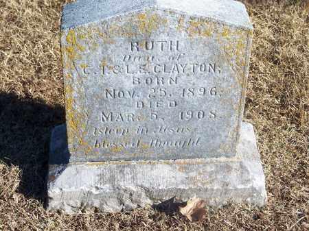 CLAYTON, RUTH - Washington County, Arkansas   RUTH CLAYTON - Arkansas Gravestone Photos