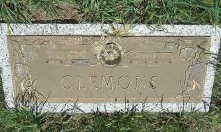 CLEMONS, ALMA OLETA - Washington County, Arkansas | ALMA OLETA CLEMONS - Arkansas Gravestone Photos