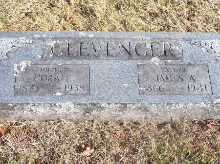 CLEVENGER, JAMES A. - Washington County, Arkansas | JAMES A. CLEVENGER - Arkansas Gravestone Photos