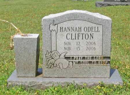 CLIFTON, HANNAH ODELL - Washington County, Arkansas | HANNAH ODELL CLIFTON - Arkansas Gravestone Photos