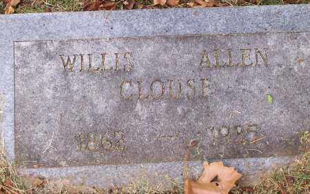 CLOUSE, WILLIS ALLEN - Washington County, Arkansas | WILLIS ALLEN CLOUSE - Arkansas Gravestone Photos