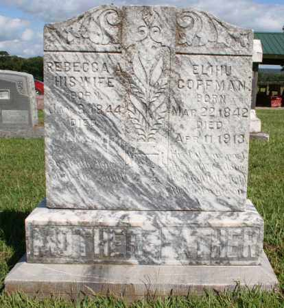 COFFMAN, ELIHU - Washington County, Arkansas | ELIHU COFFMAN - Arkansas Gravestone Photos
