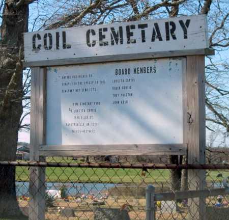 *COIL CEMETERY,  - Washington County, Arkansas    *COIL CEMETERY - Arkansas Gravestone Photos