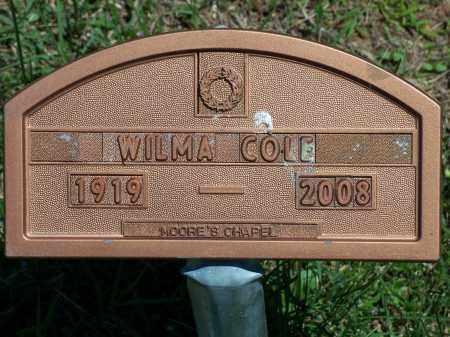 COLE, WILMA - Washington County, Arkansas | WILMA COLE - Arkansas Gravestone Photos