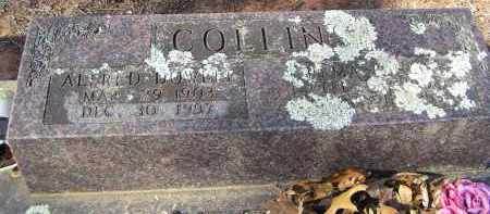 COLLINS, ALFRED DOWELL - Washington County, Arkansas | ALFRED DOWELL COLLINS - Arkansas Gravestone Photos