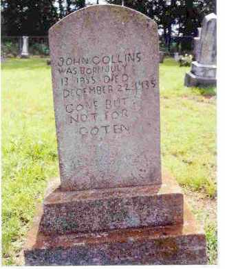 COLLINS, JOHN J. - Washington County, Arkansas | JOHN J. COLLINS - Arkansas Gravestone Photos