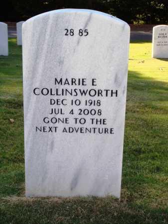 COLLINSWORTH, MARIE EVALEE - Washington County, Arkansas   MARIE EVALEE COLLINSWORTH - Arkansas Gravestone Photos
