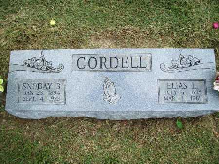 CORDELL, SNODAY B. - Washington County, Arkansas | SNODAY B. CORDELL - Arkansas Gravestone Photos