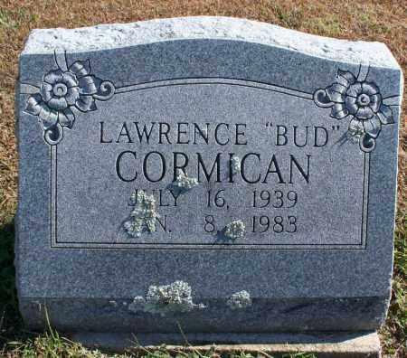 "CORMICAN, LAWRENCE ""BUD"" - Washington County, Arkansas | LAWRENCE ""BUD"" CORMICAN - Arkansas Gravestone Photos"