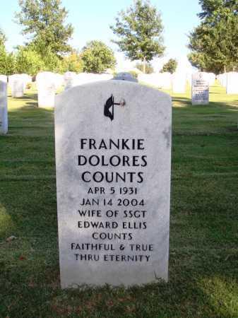 KIRKLAND COUNTS, FRANKIE DOLORES - Washington County, Arkansas | FRANKIE DOLORES KIRKLAND COUNTS - Arkansas Gravestone Photos