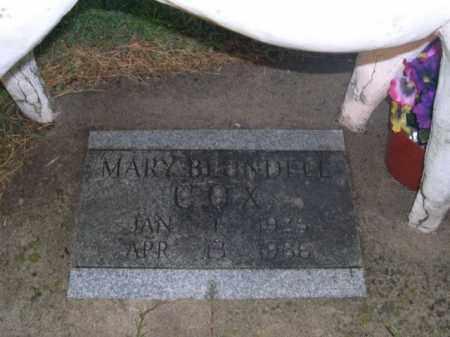 COX, MARY (CLOSEUP - Washington County, Arkansas | MARY (CLOSEUP COX - Arkansas Gravestone Photos