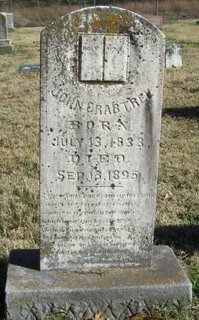 CRABTREE, JOHN - Washington County, Arkansas | JOHN CRABTREE - Arkansas Gravestone Photos