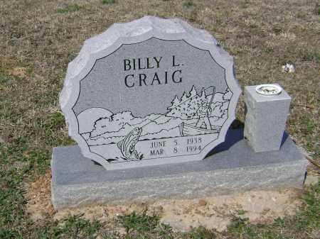 CRAIG, BILLY L - Washington County, Arkansas | BILLY L CRAIG - Arkansas Gravestone Photos